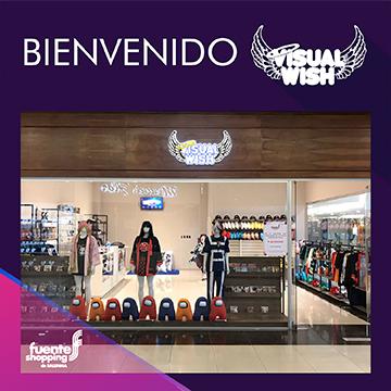 Le damos la Bienvenida a Visual Wish a Fuente Shopping!!